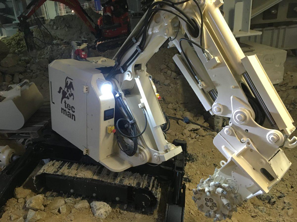 Tecman robot de démolition